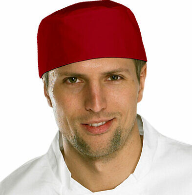 Chefs Skull Caps Hat Professional Catering Kitchen - Various Colours - Pack 5