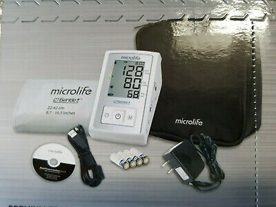 Microlife Premium Automatic Blood Pressure Monitor w/ Software & AC Adapter NIB