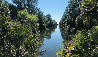 Beautiful Waterfront - Canal Front Lot In Port Charlotte Fl