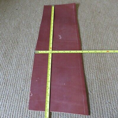 """TAN BRIDLE LEATHER OFF CUT 22"""" X 7.5"""" (56 X 19cm)  3.8mm THICK  CLEARANCE"""