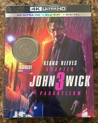 John Wick Chapter 3 Parabellum (4K UltraHD,Blu-ray,2019)