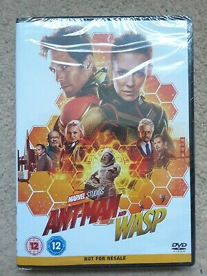 Ant-Man And The Wasp DVD Movie 2018 Region 2