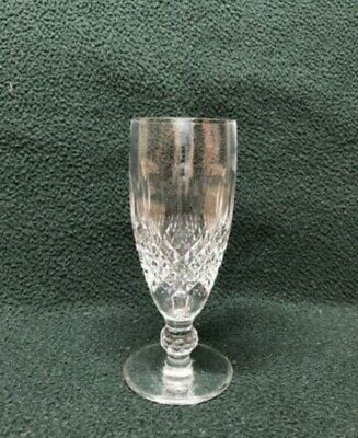 Waterford Colleen Short Stem Champagne Flute, Retired pattern, signed, 4 avail.