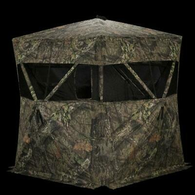 Rhino Blind Deer Hunting Ground Blind Pop Up  Mossy Oak/Realtree Camo Portable