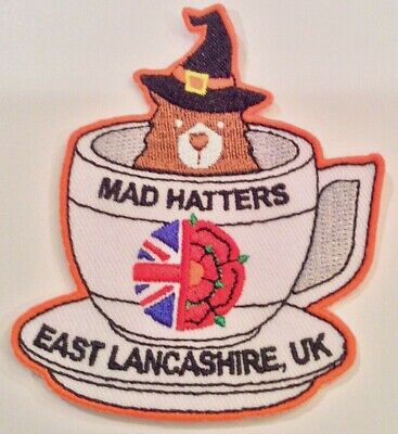 Unit 42 East Lancashire Mad Hatter UK Badge Patch 2019 24th World Scout Jamboree