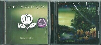 "FLEETWOOD MAC LOT OF 2 CDs - ""GREATEST HITS"" & ""TANGO IN THE NIGHT"" (Both NEW)"