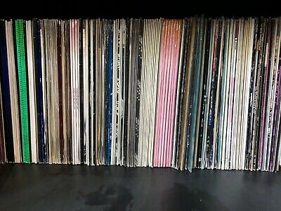 "Bulk vinyl records House/Techno/Trance 12"" Singles Make your own size record lot"