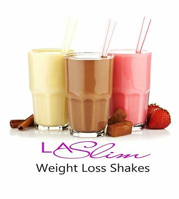 60 VLCD LA Slim Diet Shakes Meal Replacement Soups Jelly Oats Protein Powder