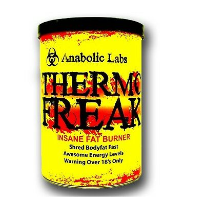 Thermo Freak Strong Fat Burner Slimming Diet Pills Appetite Suppressant Legal T5