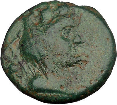 TRIPOLIS in PHOENICIA Tyche Nike Ship 1stCenBC Rare Ancient Greek Coin  i37716