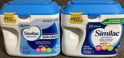 Similac Advance Powder Complete Nutrition OptiGRO  1.45 Ib (Qty 2)