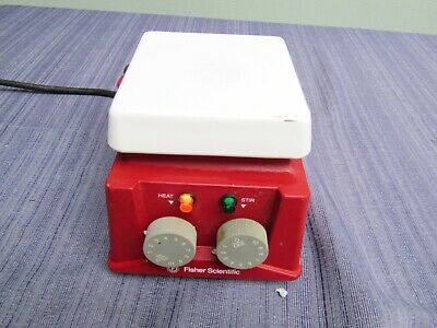 "Fisher Scientific Isotemp Hot Plate Magnetic Stirrer 4""x4"" 11-500-4SH 120V"
