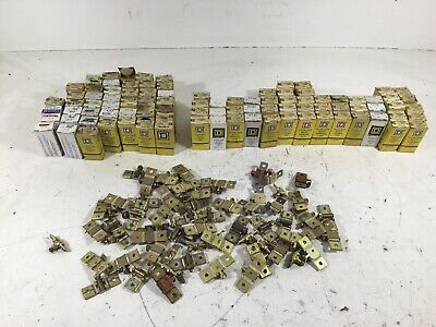 HUGE LOT OF SQUARE D Overload Relay Thermal Units; MOSTLY NEW