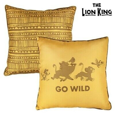 S0718928 172898 Coussin The Lion King 74864 Jaune (40 X 40 cm)