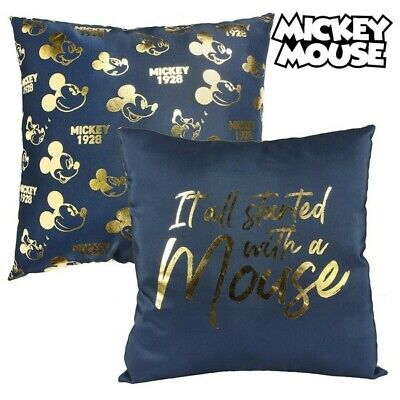 S0718924 174043 Coussin Mickey Mouse 74511 Blue marine (40 X 40 cm)