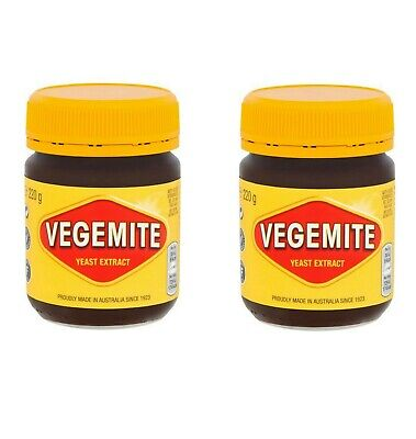 PACK OF 2 Kraft Vegemite Concentrated Yeast Extract 2 Jars 220G