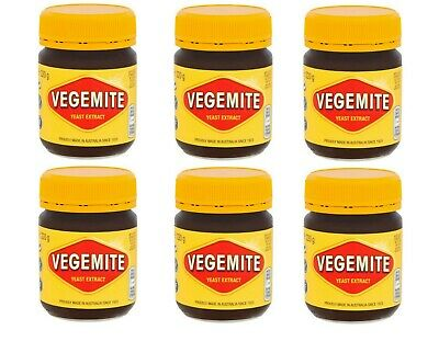 PACK OF 6 Kraft Vegemite Concentrated Yeast Extract 6 Jars 220G