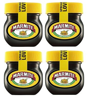 4 x Small Jars Of Marmite Yeast Extract Spread 4 Jar 70G