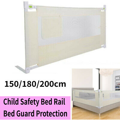 150/180/200cm Bed Safety Guards Folding Child Toddler Bed Rail Safety Protection