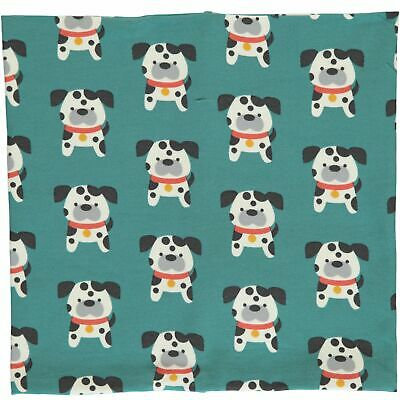 Dalmation dog organic cotton loop scarf Maxomorra 12 18-24 2 3 4 5 6 7 8 9 10