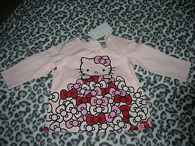 Top Hello Kitty for Girl 6-9 months H&M