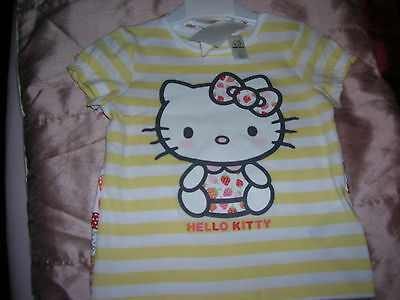 2 Tops Hello Kitty for Girl 9-12 months H&M