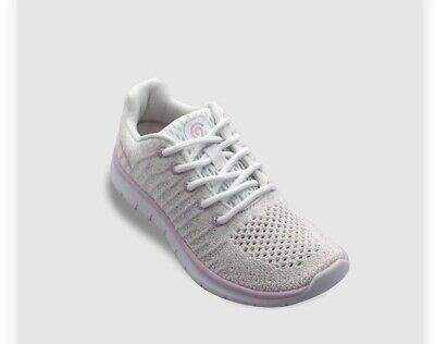 sz 2 Girls Performance Athletic Shoes C9 Champions White Pink Sz 2 Style Focus 3