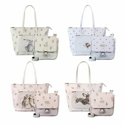 Wrendale Designs - Animal Prints Everday Bag or Satchel Bag by Hannah Dale