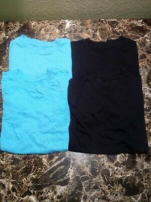 Lot of 4 Boys ARIZONA Blank Short Sleeve T-Shirts Size 10 12 M