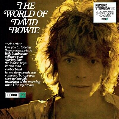 David Bowie - The World Of David Bowie BLUE VINYL LP RECORD STORE DAY
