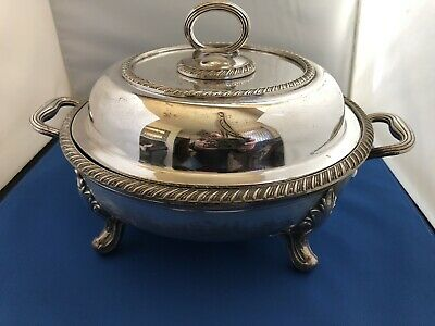Victorian Sheffield Tureen With Hot Water Base
