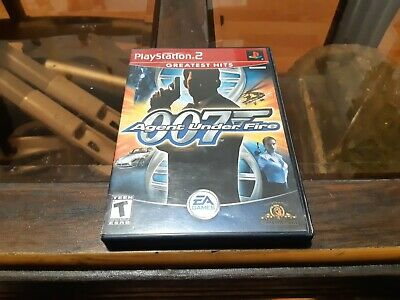 James Bond 007 in Agent Under Fire (Sony PlayStation 2, 2002) Missing Manual