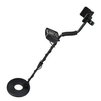 Waterproof 8-3/5 Ft. Coil LCD Metal Detector Finder LED Light CE Automatic groun