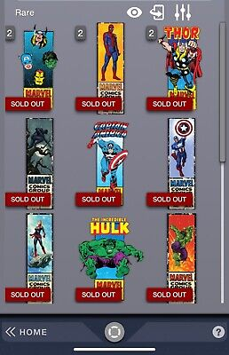 Topps Marvel Collect Corner Box set (All Series plus Zombies)