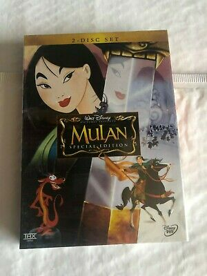 Mulan (DVD, 2004, 2-Disc Set, Special Edition) Brand New Free Shipping!