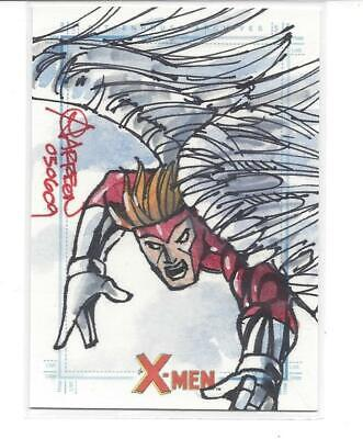Marvel X-Men Archives Sketch - Angel (by Andy Carreon)