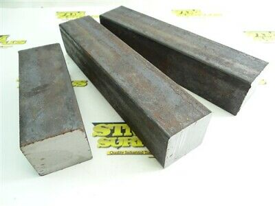 "28.0Lb Alloy Steel Solid Bar Stock 2"" X 2"" X 5-3/4"" 9-1/4"" & 9-1/2"" Lengths"