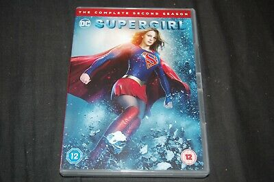 SUPERGIRL ~ Season 2 ~ Complete Series 2 ~ DVD Box Set ~ (DVD,2017)