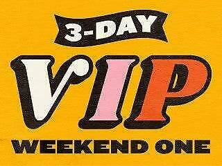ONE LEFT Austin City Limits Weekend One - 3 Day Pass VIP - 10/4/19