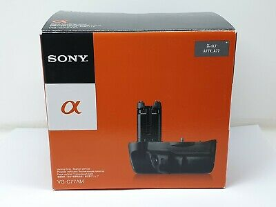 GENUINE Sony VG-C77AM Vertical Battery Grip for Sony A77 A77 II A99 A99 II