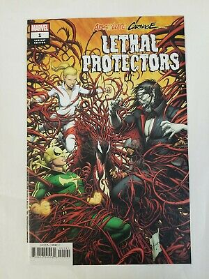 Absolute Carnage Lethal Protectors #1 1:50 Dale Keown Variant Cover VF B