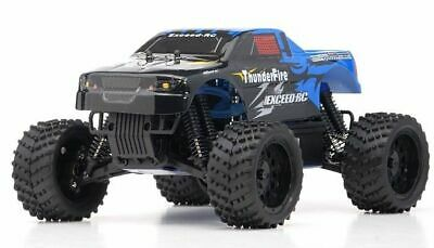 1/16 2.4Ghz Exceed RC ThunderFire Nitro Gas Powered RTR Off Road Truck Sava Blue