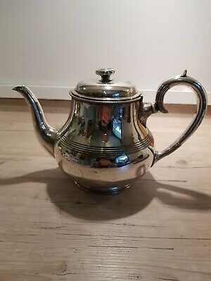 Antique Victorian Silver Plated (EPBM) Teapot