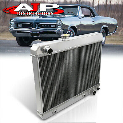 3-Row Aluminum Radiator Upgrade For 1965 1966 1967 Pontiac GTO/Tempest/Lemans