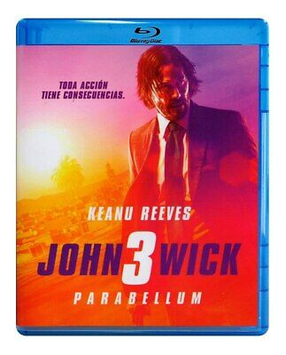 John Wick 3: Parabellum Mexican Edition Blu-Ray Mexico Keanu Reeves