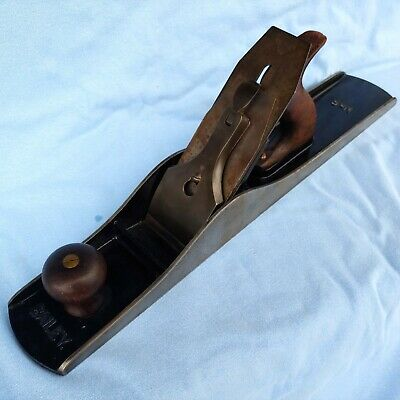 STANLEY Fore Plane No 6C Type 9 1902-1907 Corrugated Restored, Sharpened