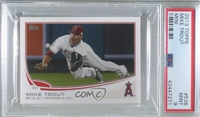 2013 Topps MIKE TROUT Player of the Year LOT #536 Angels QTY Available 33