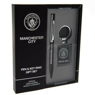 Manchester City FC Pen and Keyring Set (TA4946)