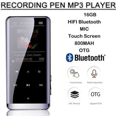 16GB Portable MP3 Player Lossless HIFI MP4 Music Player Bluetooth Music speaker