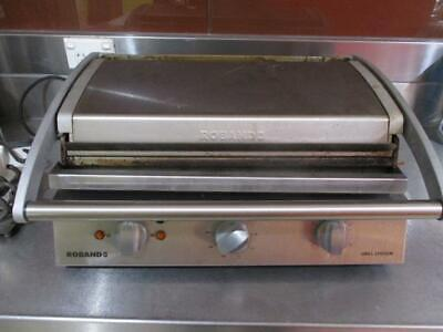 Roband Model: Gsa810S Commercial Grill Station Sandwich Press